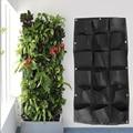 18 Pockets Vertical Garden Wall Planter Flower Pots Hanging Plant Pots Green Wall Pot Balcony Garden Decoration Tool| |   -