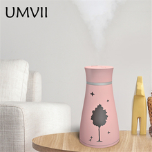 цена на Free Shipping 200ML Mini Air Purifier Portable USB Air Humidifier Safe Use Aroma Diffuser