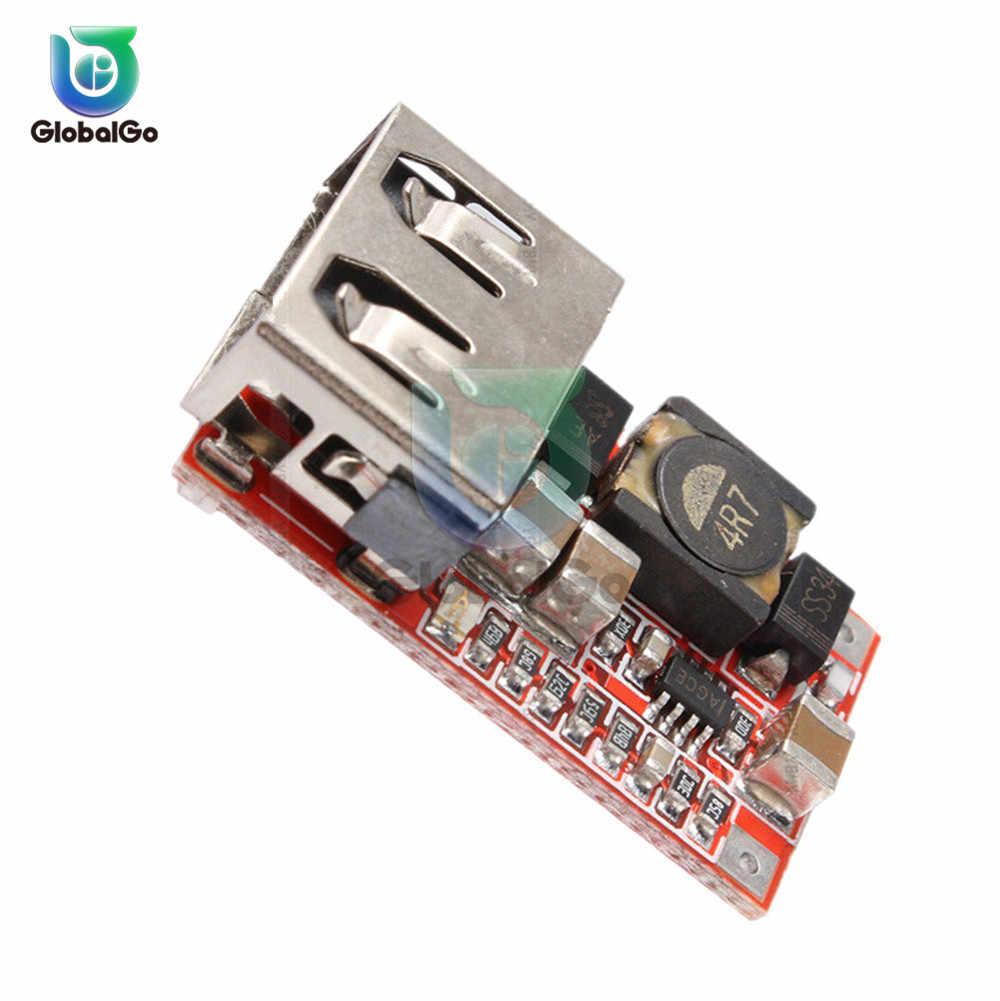 6-24V para 5V 3A USB Car Charger Step-down Placa Mini USB Fanfarrão Passo Para Baixo conversor Módulo de Alimentação