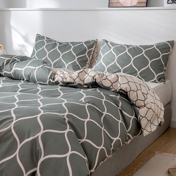 LOVINSUNSHINE ropa de cama de lujo conjunto Super rey funda nórdica conjuntos 3 uds mármol sola reina tamaño negro edredón
