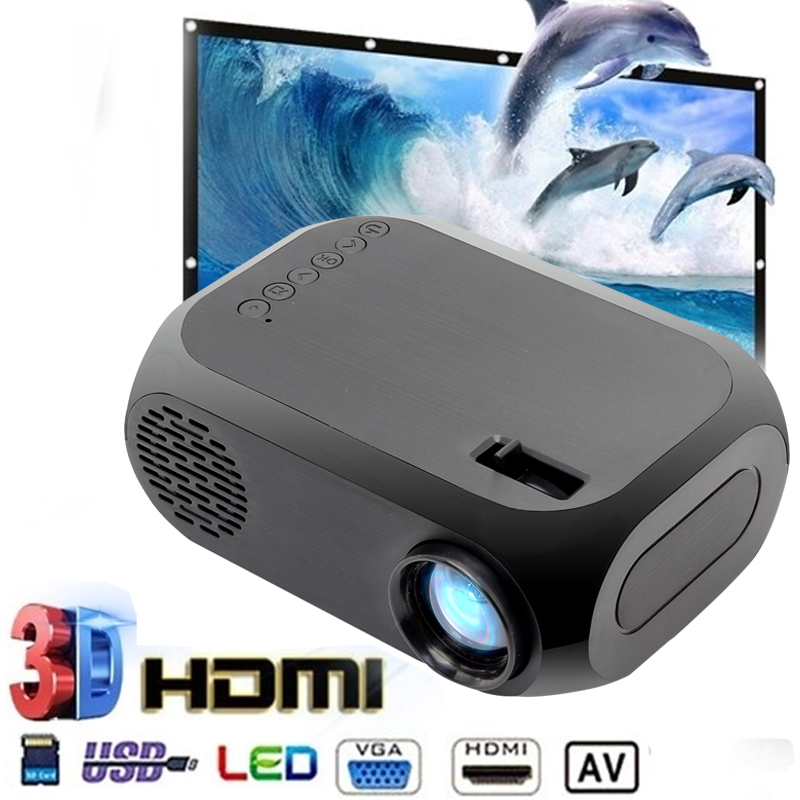 BLJ-111 LCD FHD Smart Projector 4K 3D 640×480 Mini Interfaces Projector Support USB AV HDMI Movie Home Cinema Film suporte pr