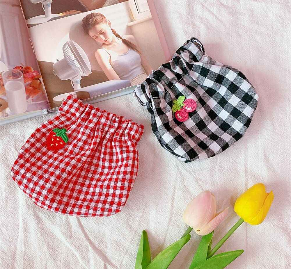 Bentoy Red Plaid Coin Purse Bus Bank Card Holder Case Make up Bag Girls Mini Money Bag Children Coin Pouches Korea Simple Bags
