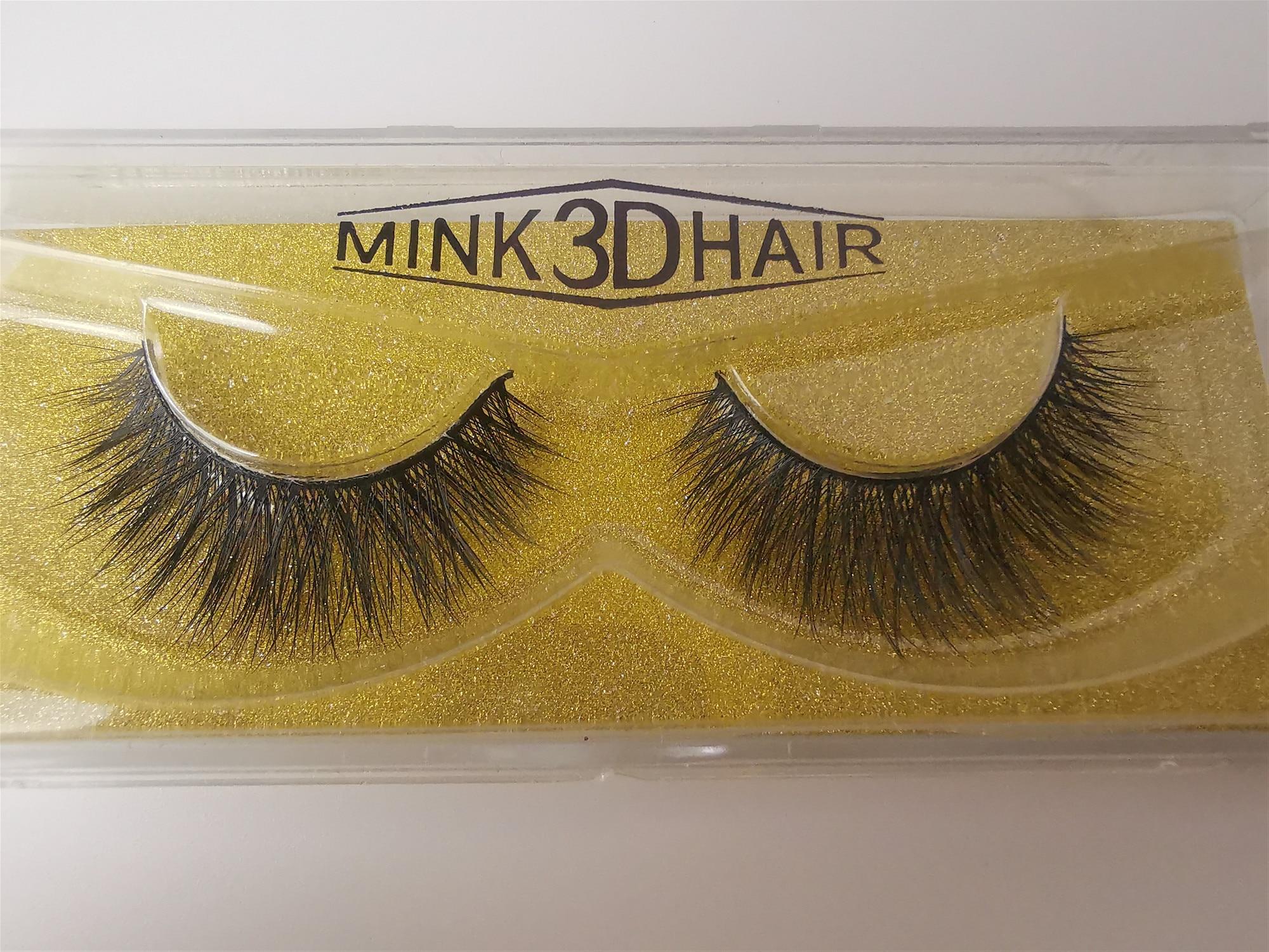 Meilleure vente Faux vison Extension de cils en gros en vrac vison 3D cheveux cils 3D vison cils vendeur