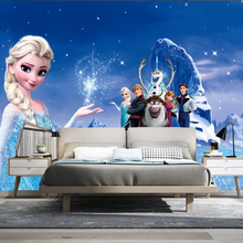 Custom 3D/5D/8D photo wallpaper princess girl bedroom children room background decorative mural