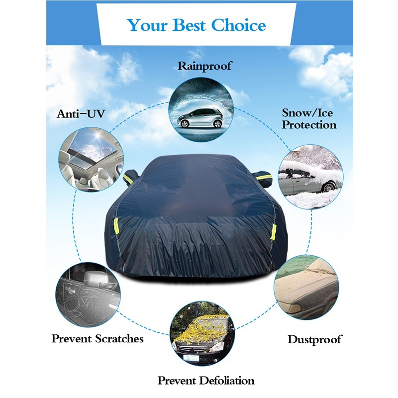 Sun-Protection-Cover Car-Reflector Auto-Exterior-Accessories Full-Cover Waterproof Outdoor
