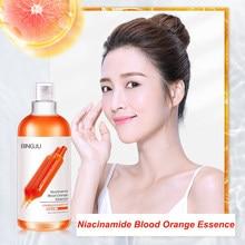 Kan portakal C vitamini Serum nemlendirici cilt Nicotinamide yüz özü cilt aydınlatmak yüz toniği onarım cilt stok solüsyonu