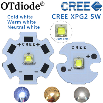 1 sztuk Cree XPG2 led XP-G2 1-5W LED emiter zimny biały 6500K neutralny biały 4500k dla latarka reflektor żarówka tanie i dobre opinie OTdiode Piłka 3 0-3 6 V 350-1500mA