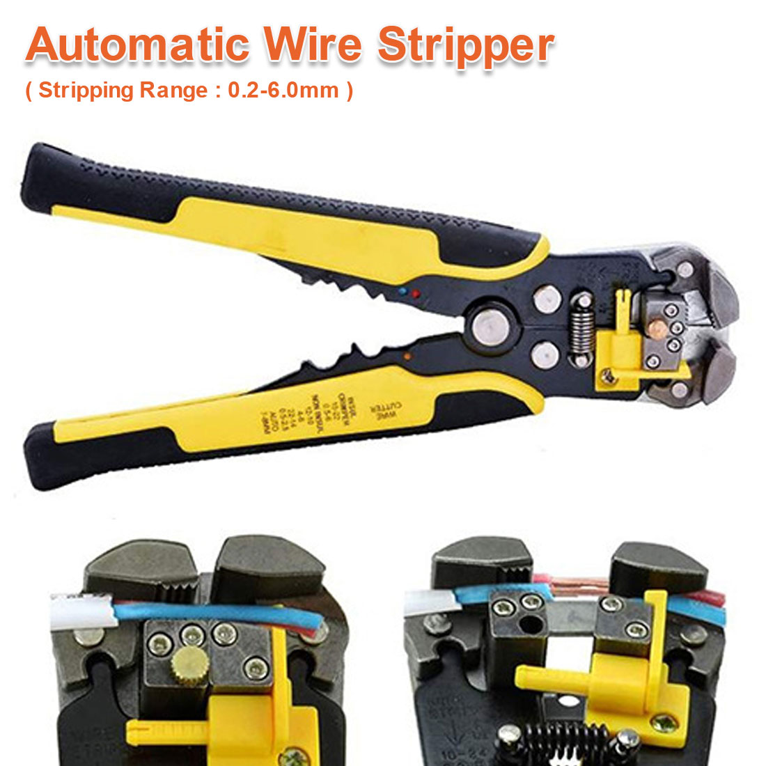 Hand Tools 0.2-6.0mm Automatic Wire Striper Cutter Stripper Crimper Pliers Crimping Terminal Cutting And Stripping Wire