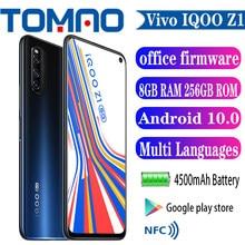 Vivo IQOO Z1 5G teléfono celular Mediatek 1000 Plus 6GB 8GB RAM 128GB 256GB ROM 4500mAh 44W cargador rápido 48.0MP 6,57