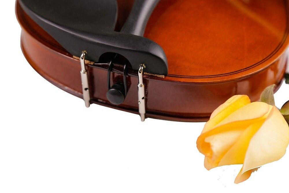 Di alta Qualità Violino Violino Strumento A Corde Giocattolo Musicale per I Bambini Principianti Violino Tiglio Corpo In Acciaio Stringa Pergolato Arco Colofonia - 6