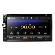"2 DIN Mobil Radio 7 ""MP5 Pemain Mobil Multimedia Player 2din Auto Radio DVD FM Audio Stereo Universal Head Unit roda Kemudi Bt USB(China)"