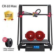 Creality 3dcr-10 max impressora 3d maior tamanho de impressão 450*450*470mm triângulo dourado auto nivelamento currículo impressão touch-screen 8g tf