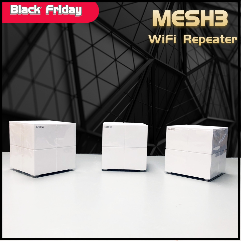 Tend Nova MW6 Whole Home Mesh Wireless WiFi System With 11AC 2.4G/5.0GHz WiFi Wireless Router And Repeater, APP Remote Manage