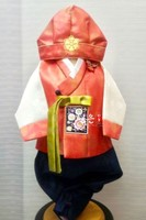 Korean Imported Fabric Boys First Birthday Korean Clothes / Children's New Korean Clothing Skirts Kids Costume Fashion Belt