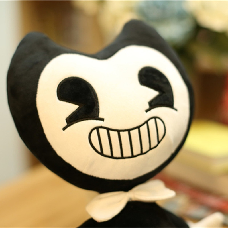 Hot Sale Lovely Plush Toys Bandy And Ink Machine Halloween Gifts For Children