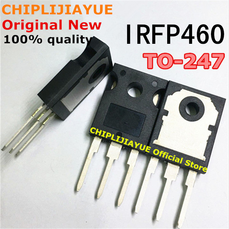 10PCS IRFP460 TO247 IRFP460PBF TO-247 500V/20A/0.27 New And Original IC Chipset