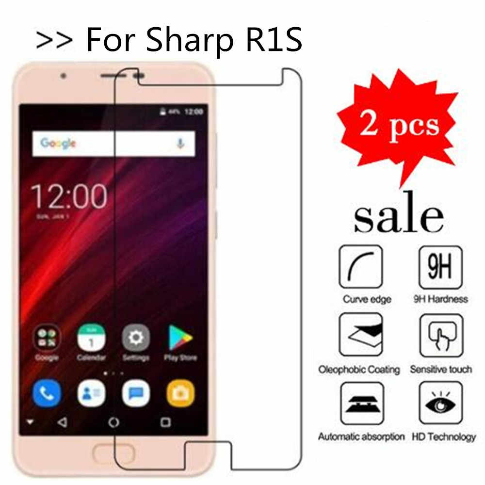 For Sharp R1S Tempered Glass 9H High Quality Protective Film Explosion-proof Screen Protector For Sharp R1S