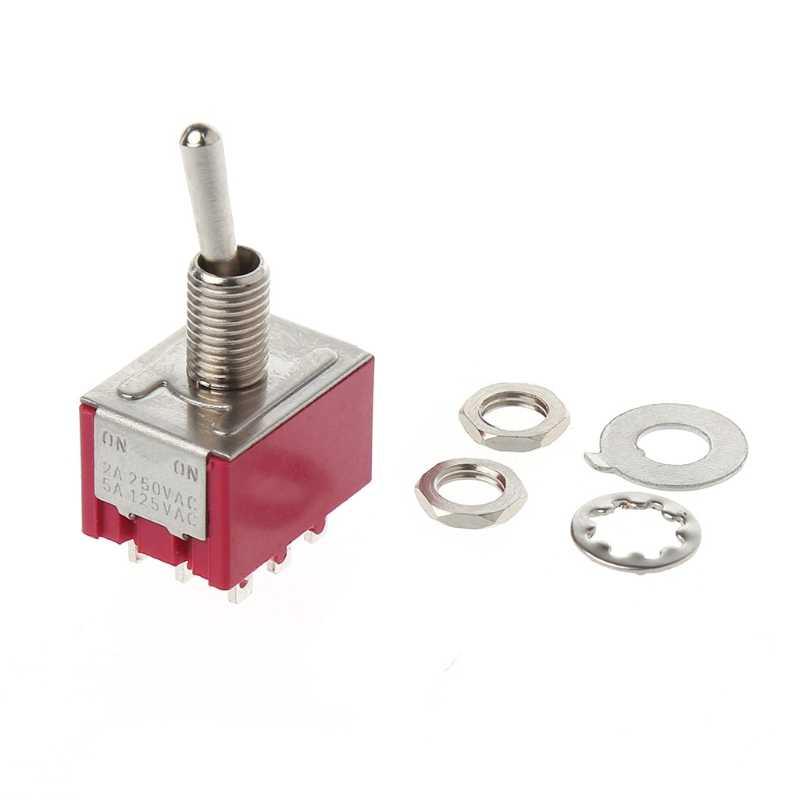 Мини 6 мм MTS-302 переключатель 9 Pin 2 положения ON/ON 5A/125VAC 2A/250VAC