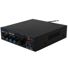 800W o Power Amplifier with US Plug 12/220V 2 Channel Mini HIFI Wireless Bluetooth Digital o Amp for Home Theater/Car(China)