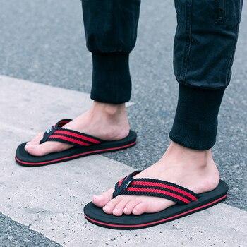 Brand Flip Flops Men Shoes Summer Platform Sandals Men Casual Beach Sandals Comfort Slippers High Quality Shoe Men Large Size 48 1