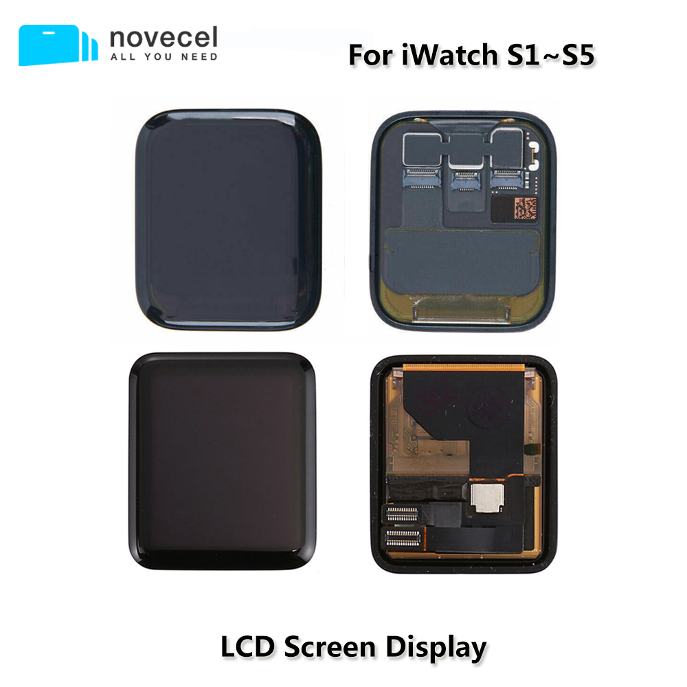 Tested Original LCD Touch Display Screen Assembly For <font><b>Apple</b></font> <font><b>Watch</b></font> <font><b>Series</b></font> 4 <font><b>3</b></font> 2 1 <font><b>GPS</b></font> Cellular Broken TouchScreen Replacement image