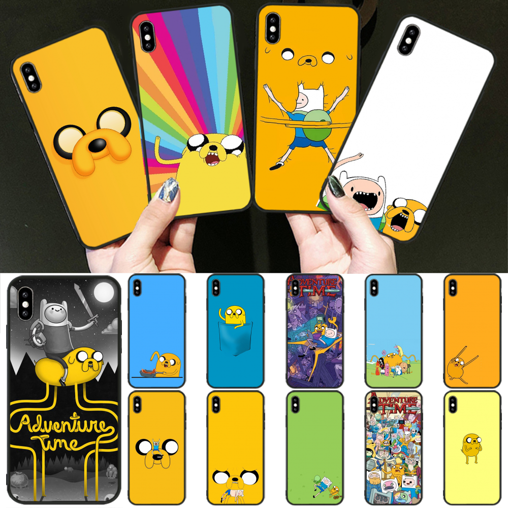 Reayou adventure time Beemo BMO Jake Coque Shell Phone Case for iPhone 11 pro XS MAX 8 7 6 6S Plus X 5 5S SE XR cover