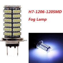 H7 1210 120smd светодиодный автомобильный противотуманный фонарь, светодиодный лампы белого цвета, новинка, автомобильный противотуманный светильник s, высокий светильник, твердотельный светильник, источник# YL1