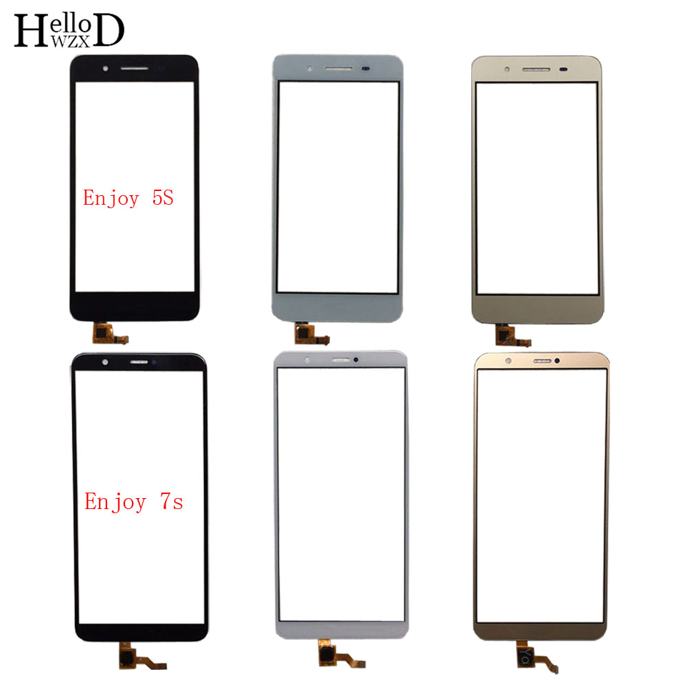 Mobile Touch Screen For HuaWei Enjoy 5S / GR3 Enjoy 7S / P Smart Digitizer Panel Front Glass TouchScreen Touch Screen 3M Glue