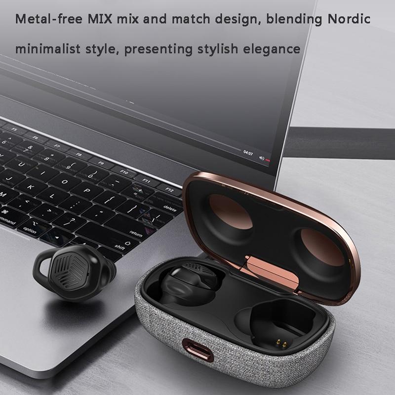Astrotec S90 Pro Dual BA Driver Mini Wireless Bluetooth Headset Hands Free True Wireless Earbuds Micro Earpiece With HD Mic