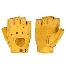 Motorcycle Gloves Breathable Leather Moto Gloves Motorbike Riding Full / Half Finger Motocross Gloves Guantes Moto