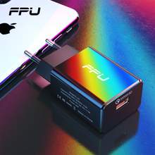 FPU Quick Charge 3.0 EU Fast Charger for iPhone X 8 iPad QC3