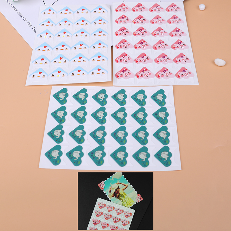 6 un Lindo Bufanda Animal PVC Pegatina de papel HAZLO TÚ MISMA Decoración Álbum Scrapbook HC