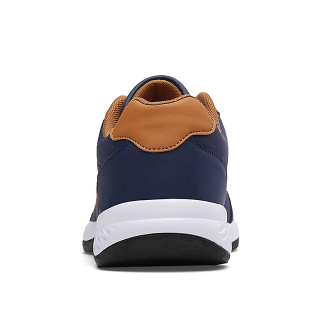 Leather Men Shoes Luxury Brand England Trend Casual Shoes Men Sneakers Italian Breathable Leisure Male Footwear Chaussure Homme 2