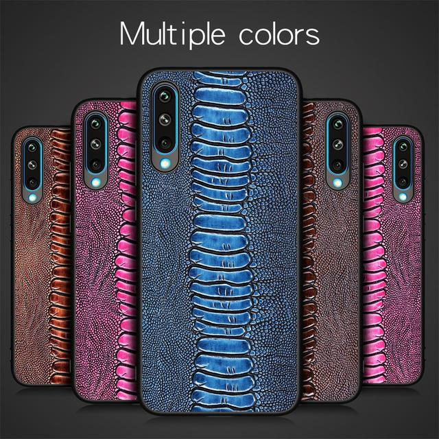 Natural Genuine Leather Skin Phone Case Cover On For Samsung Galaxy A30 A30S A50 A51 2019 A 20 30 50 S Global 32/64 GB Bumper