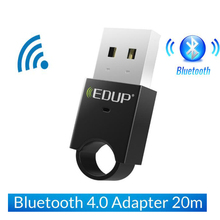Bluetooth 4.0 transmission 2.4GHz USB Wireless Music Adapter Barrier free transmission distance 20m for PC Linux Desktop Laptops