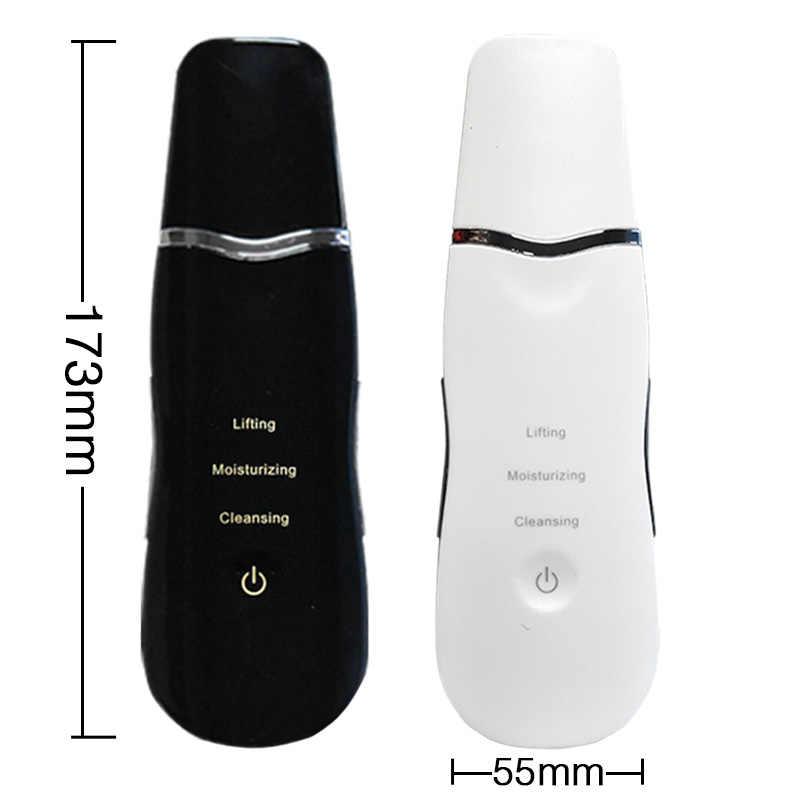 منظف مسام الوجه بالموجات فوق الصوتية منظف مسام الوجه مُدلك بالاهتزاز عالي التردد للترطيب وإزالة البشرة