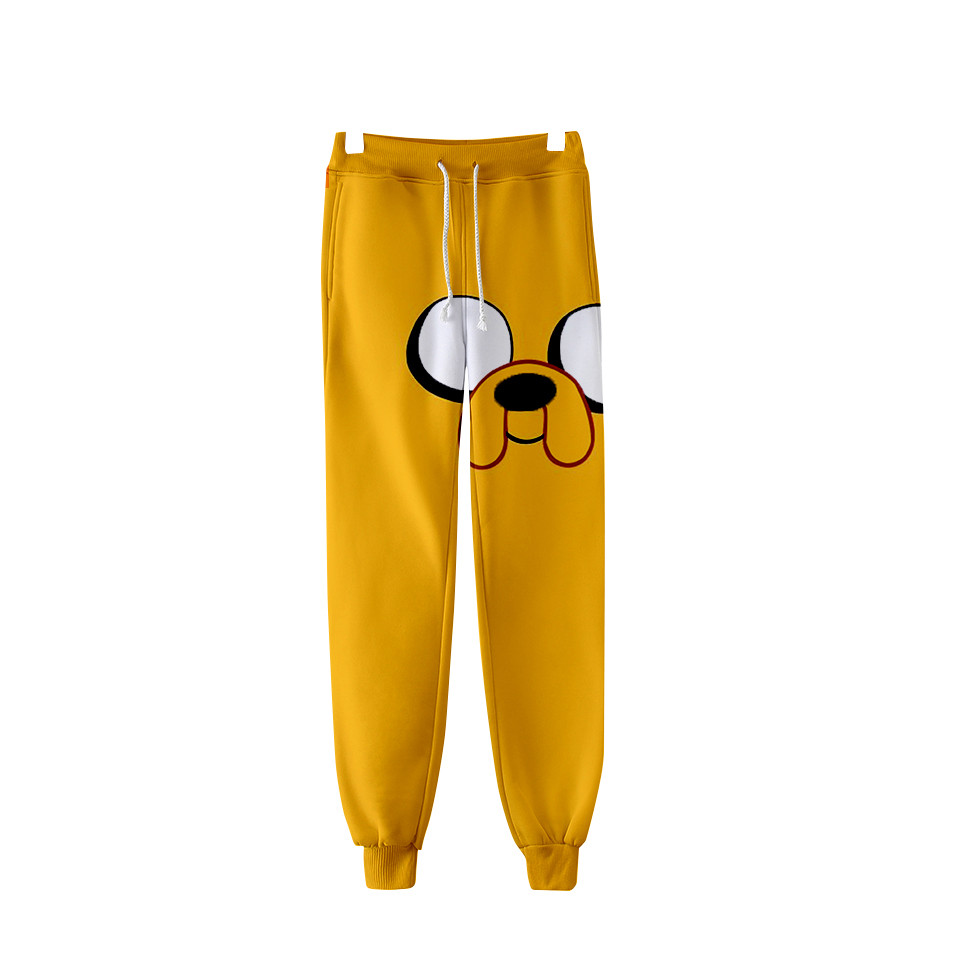 Adventure Time Finn And Jake The Dog Face 3d Sweatpants Fashion Jogger Pants Casual Track Pants Harajuku Men/Women Trousers