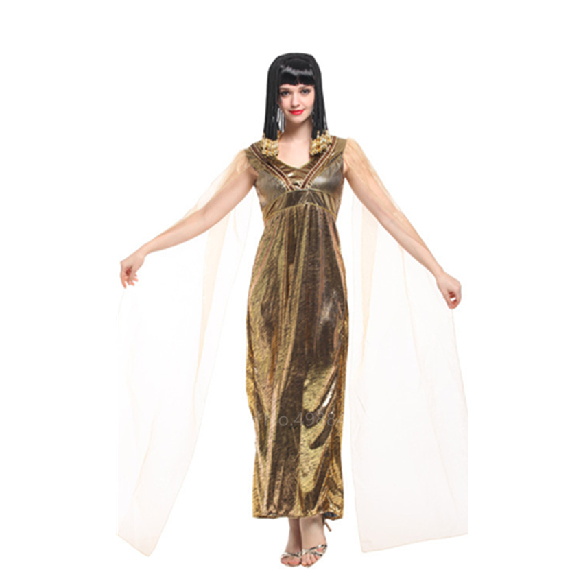 Egyptian Queen Of Da Nile Ancient Princess Adult Womens Costume Party Halloween