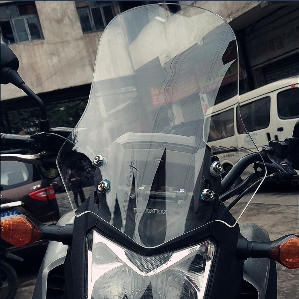 Moto accessoires pare-brise pare-brise visière pour Honda NC750 NC 750 nc7502011-2015