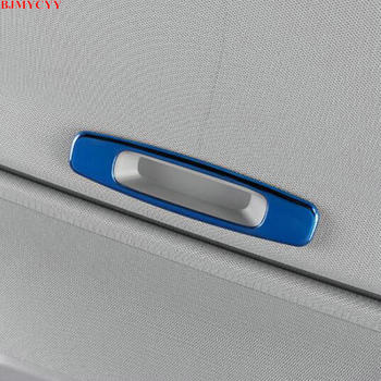 BJMYCYY for Toyota camry XV70 2018 2019 2020 accessories Automobile skylight handle stainless steel decorative frame image