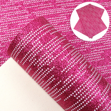 Fine-Glitter Sheet Faux-Leather for Making Home-Textile Earring Bows/1yc9201 Dots Stripe