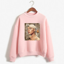 2019 Hot Selling Ariana Grande Crew Neck Pullover Hoody Wome