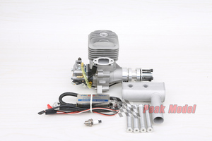 Image 2 - RCGF 32cc Petrol/Gasoline Engine for RC Airplanefor RC Airplane Two Strokes Single Cylinder Side Exhaust Natural Air