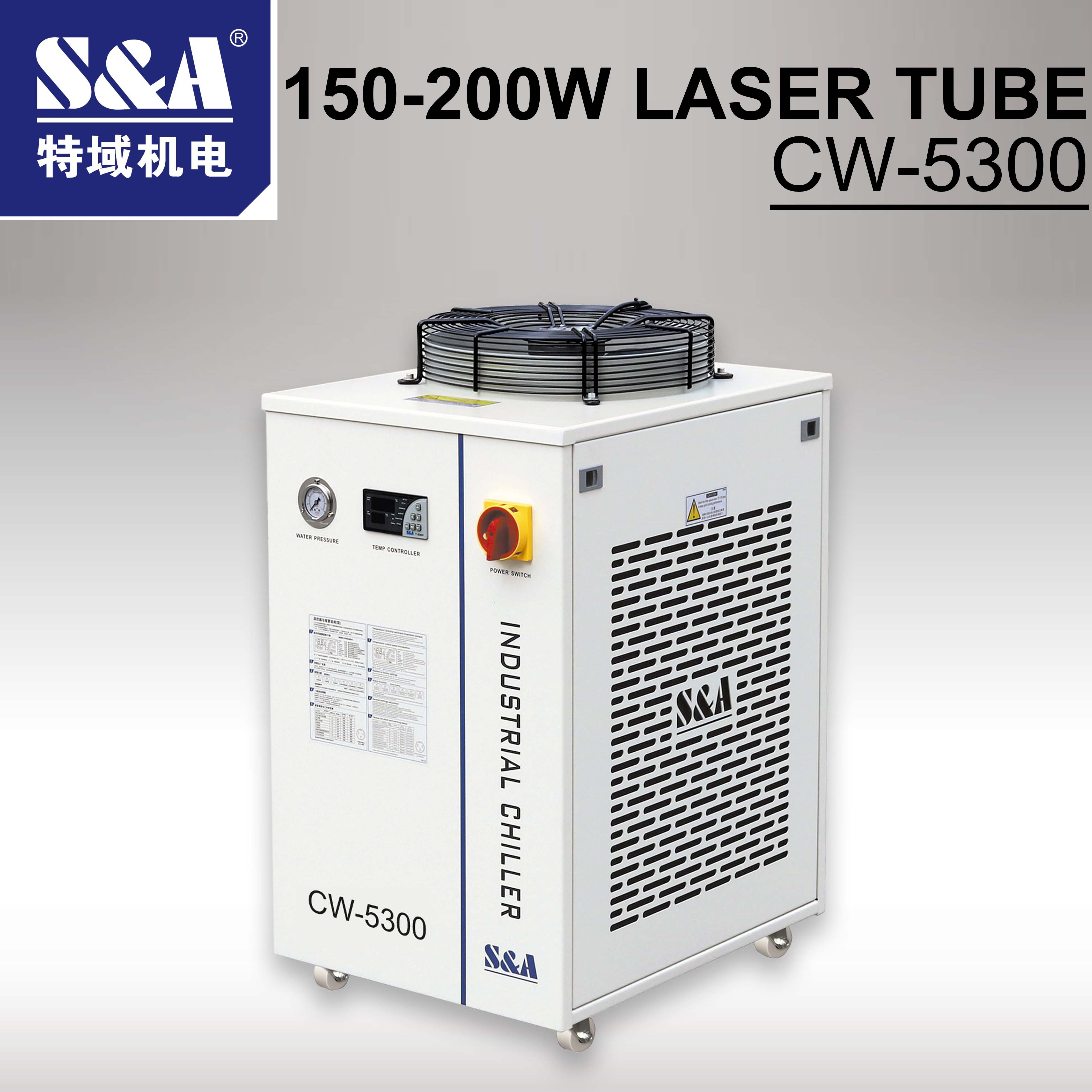 CO2 Laser Cutting Machine Industry Water Cooling Machine CW-5300  Laser Chiller