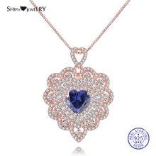 Женское ювелирное изделие shipei 100% Стерлинговое Серебро 925