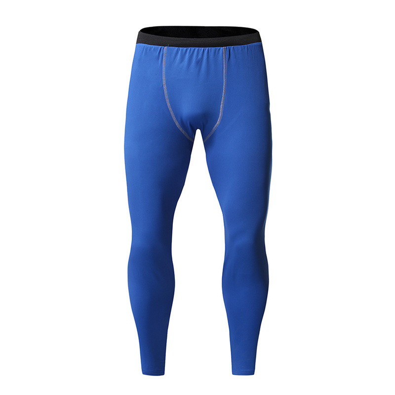 Men Pants Man Gyms Fitness Workout Bodybuilding Trousers Male   Joggers Sweatpants Compression Quick Dry Elastic Skinny Pants