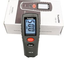 Yunombo Digital Backlight LCD Film Thickness Meter Car Paint Thickness Tester Coating Thickness Gauge YNB 100