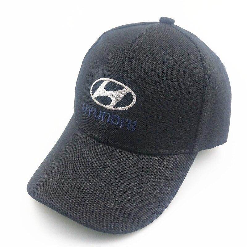 Unisex Cotton Car Logo Performance Baseball Cap Hat For Modern HYUNDAI Hat Cap Car Logo MOTO GP Racing F1 Casual Trucket Hat