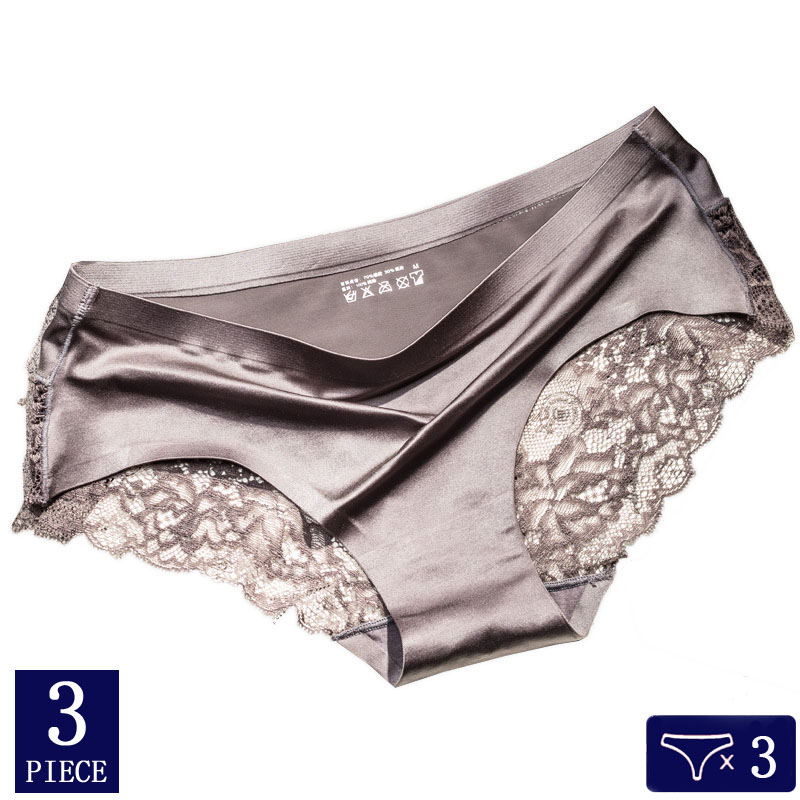 3pcs/lot women underwear Sexy Panties Seamless Cotton Breathable underwear Briefs Calvin Lingerie hot sale  sexy underwear women