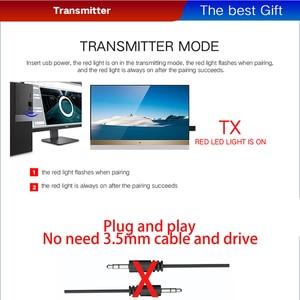 Image 3 - VAORLO Bluetooth 5.0 オーディオレシーバートランスミッター 3 で 1 ステレオ 3.5 ミリメートルの Usb Bluetooth ワイヤレスアダプタテレビ PC 用車キットヘッドフォン